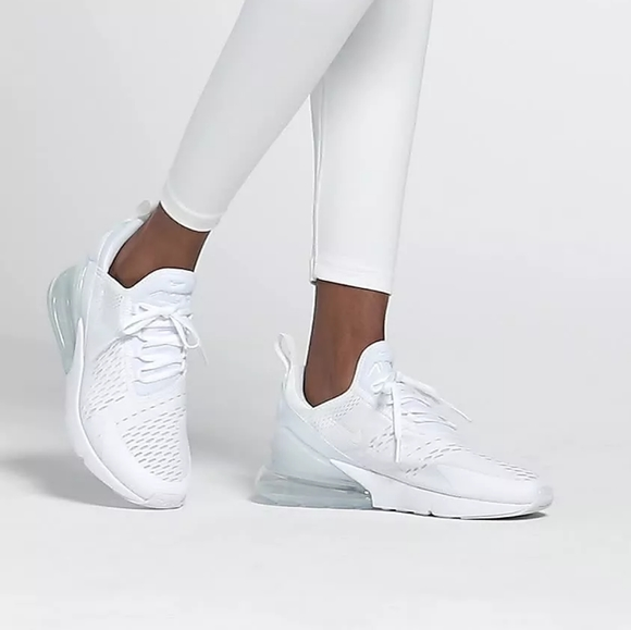Nike Shoes Air Max 270 Womens Youth White 6w 45y Poshmark